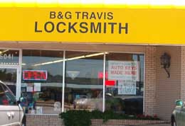 B and G Travis Lock and Key, Tulsa Locksmiths